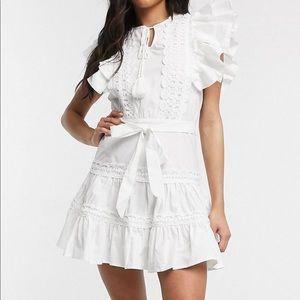 White summer dress!
